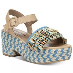 DONALD J PLINER lyna wedge sandals platform spadri